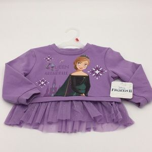 Disney Frozen II Little Girls Sweatshirt Size 3T